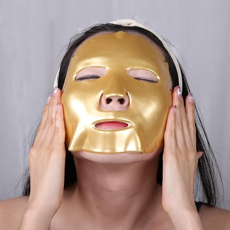 Calla-Reduce Fine Lines Lift Collagen Crystal Gold Neck Mask | Neck Mask-5