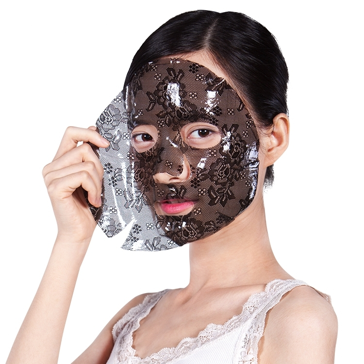 Why do woman apply masks?