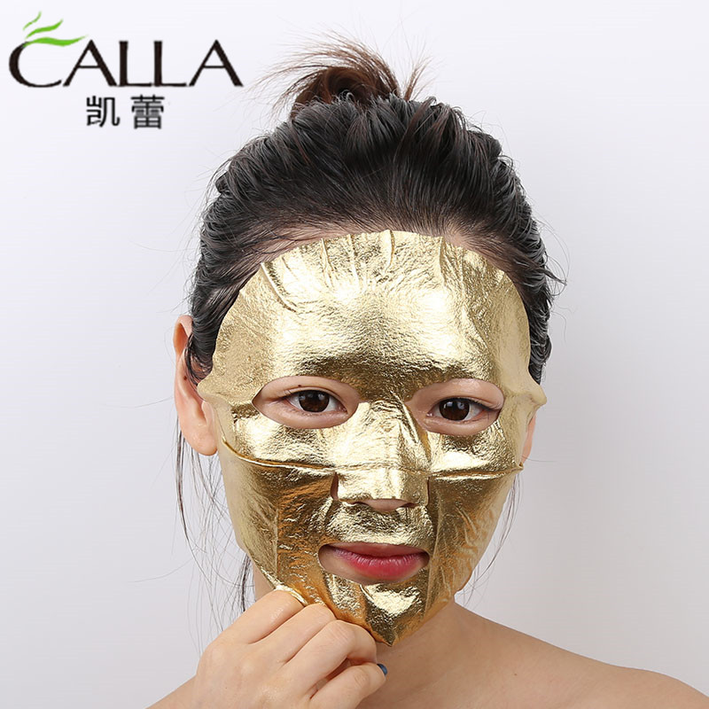 New Product Pure 24k Leaf Gold Foil Paper Mask With High Quality