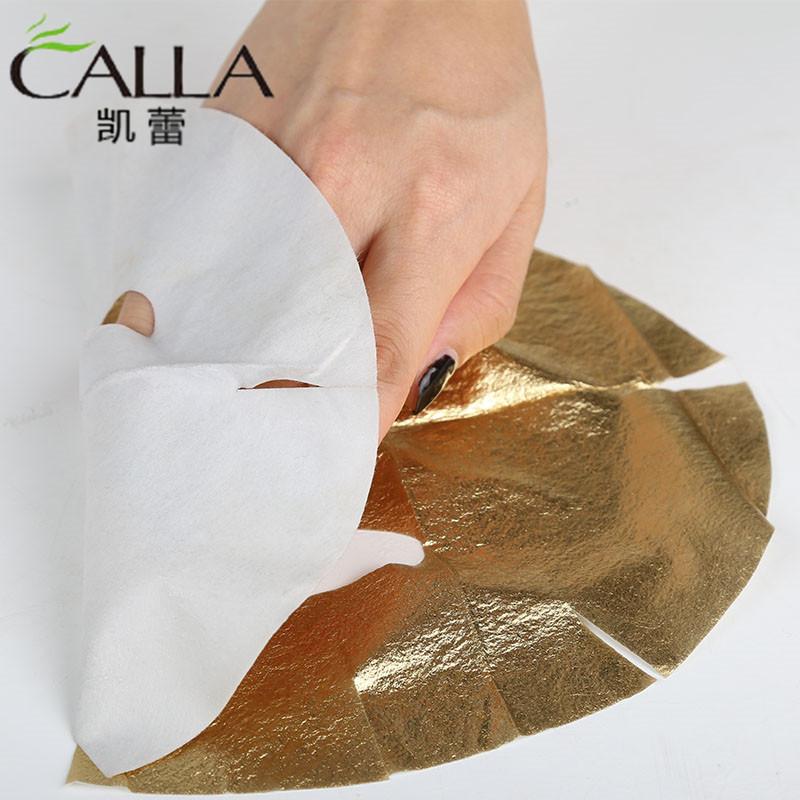Anti-aging 24 k golden Foil 24k Face Gold Leaf Mask Sheet