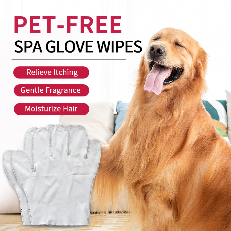 Wet Wipes Pet Gloves Wash-free Non Woven Five Finger Household Clean