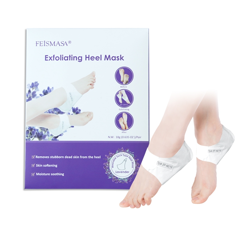 Foot Heel Mask Remove Dead Skin Lavender Peeling Exfoliating