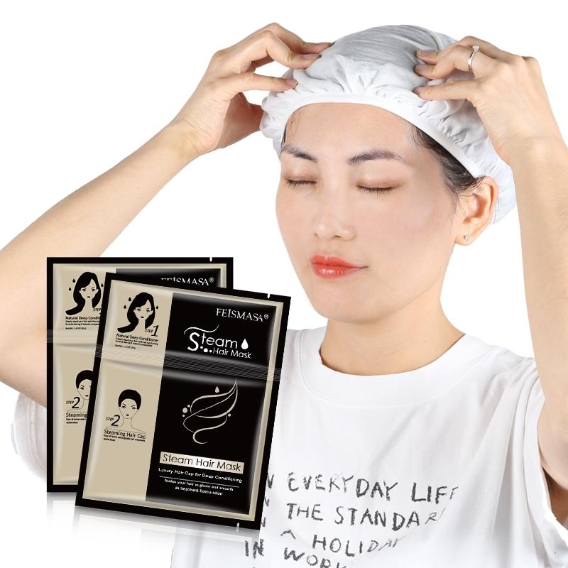 Hair Cap Mask self heating hair treatment Moisturizing Disposable