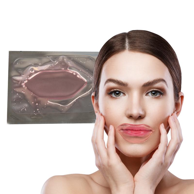 Lip Mask Pink Whitening Gel Moisturizing Transparent Collagen Crystal