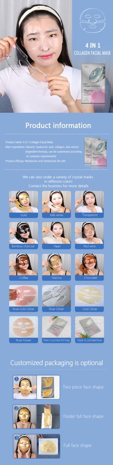 product-Calla-Facial Mask Hydrogel Collagen Crystal Moisturizing Whitening Sheet-img