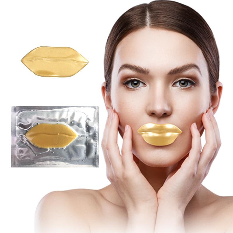Lip Mask Gold Collagen Crystal Collagen Moisturizing Crystal