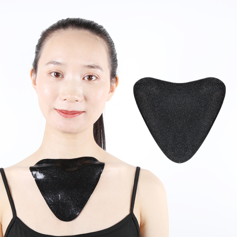 Chest Mask Pad Anti-wrinkle Hyaluronic Acid Hydrogel Collagen Crystal Firming Sheet Silicone