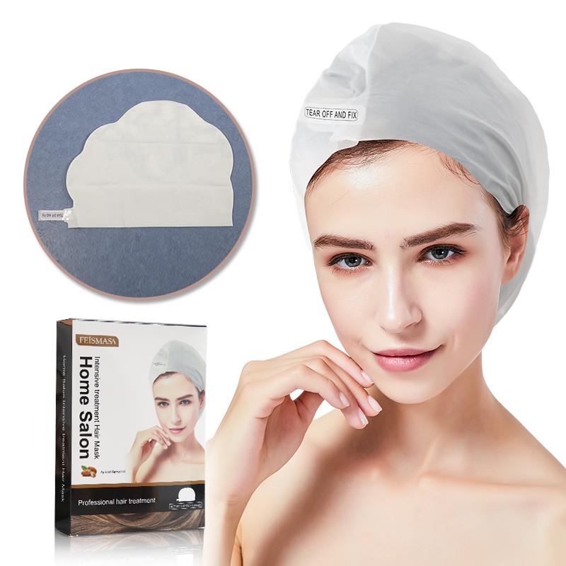 Hair Mask Custom Private Label Logo Cap Repair Coconut Oil Conditioner Sheet White Label