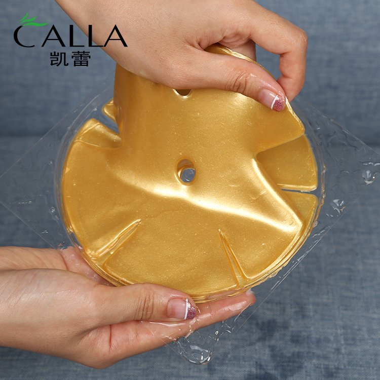 24k Gold Breast Mask For Enhancing Size Tightening Lifting Firming