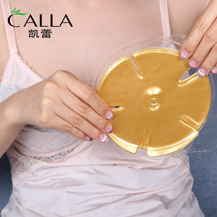 Calla-Professional 24k Gold Breast Mask For Tightening Lifting Firming