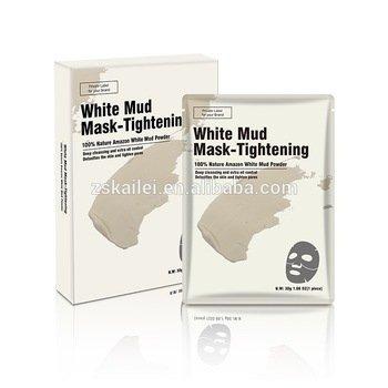 Facial Mask Custom Deep Cleansing White Mud Bentonite Clay